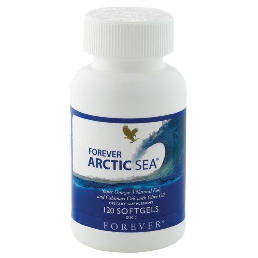 ACIZI GRASI OMEGA 3 DIN ULEI DE PESTE SALBATIC - FOREVER ARCTIC SEA