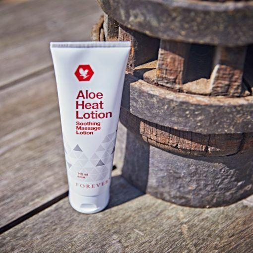Aloe Heat Lotion 4