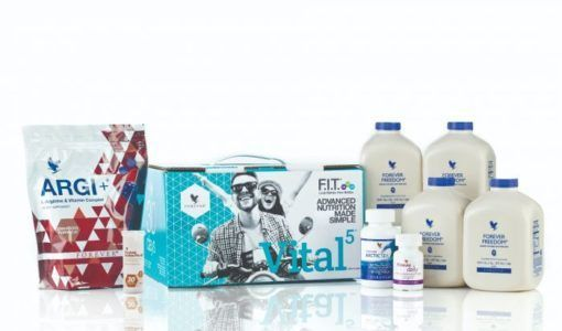 VITAL5 WITH FOREVER FREEDOM - PACHET COMPLET PENTRU UN CORP SANATOS SI FIT 1