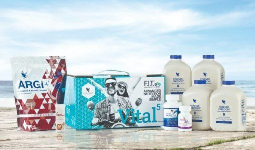 VITAL5 WITH FOREVER FREEDOM - PACHET COMPLET PENTRU UN CORP SANATOS SI FIT 2